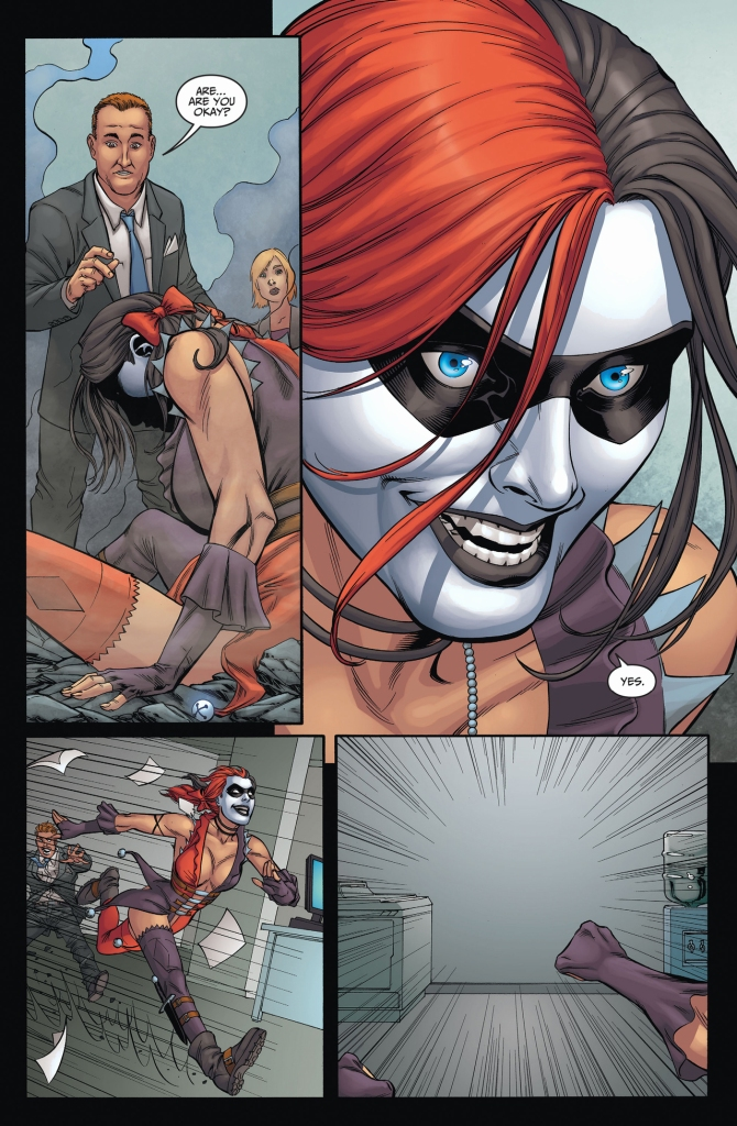 harley quinn takes the super pill