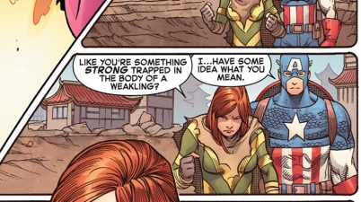 hope summers doesn't know captain america's origin