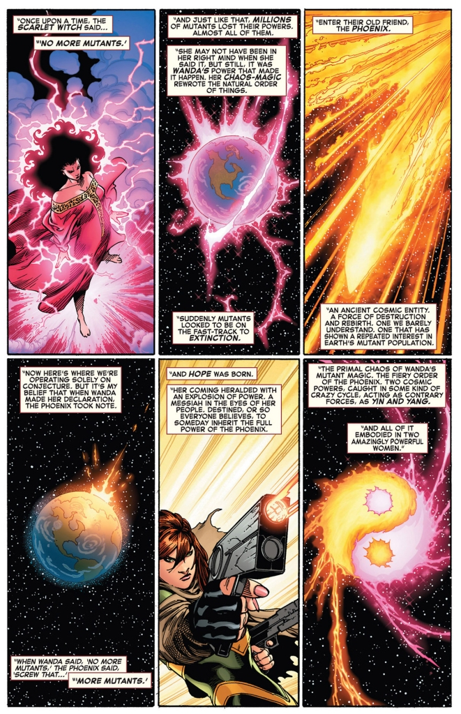 iron man's theory on the phoenix's purpose