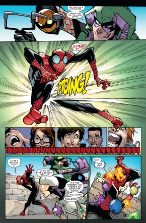 jester and screwball embarrases superior spider-man