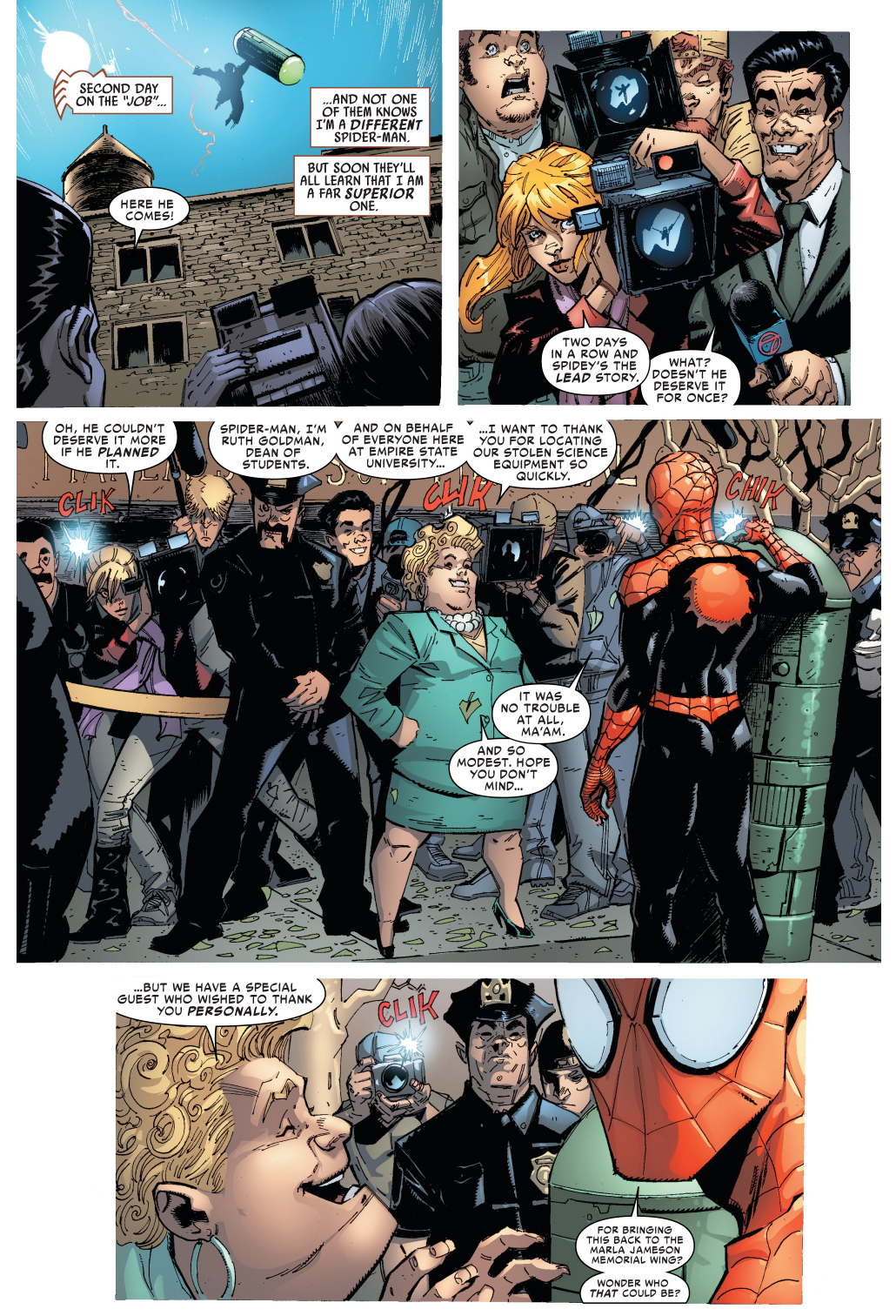 Jonah jameson quotes quotesgram - Jonah Jameson Approves Of Superior Spider Man
