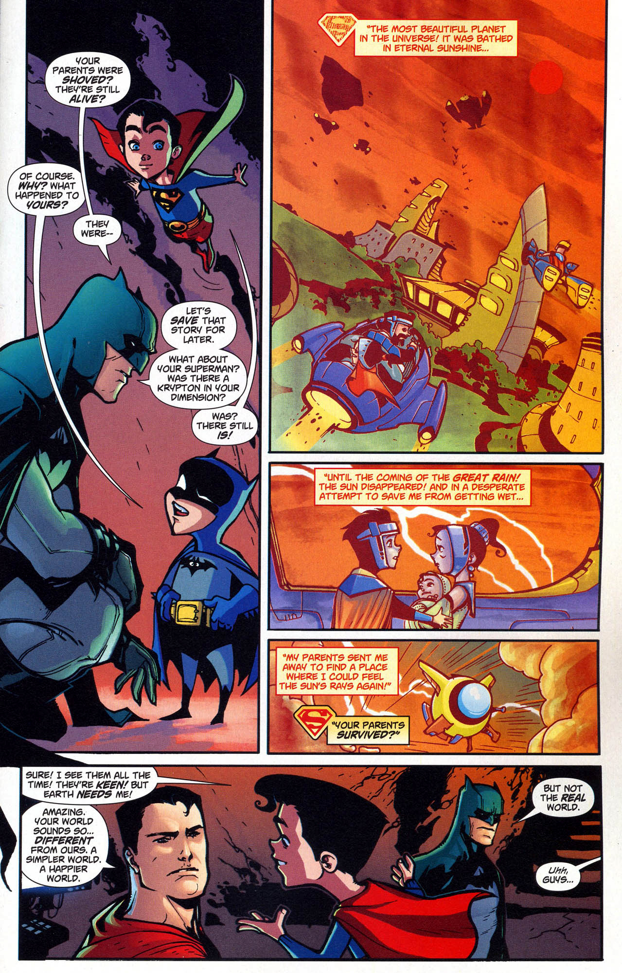 Mini batman and supermans origin story comicnewbies mini batman and supermans origin story mini batman and supermans origin story voltagebd Image collections