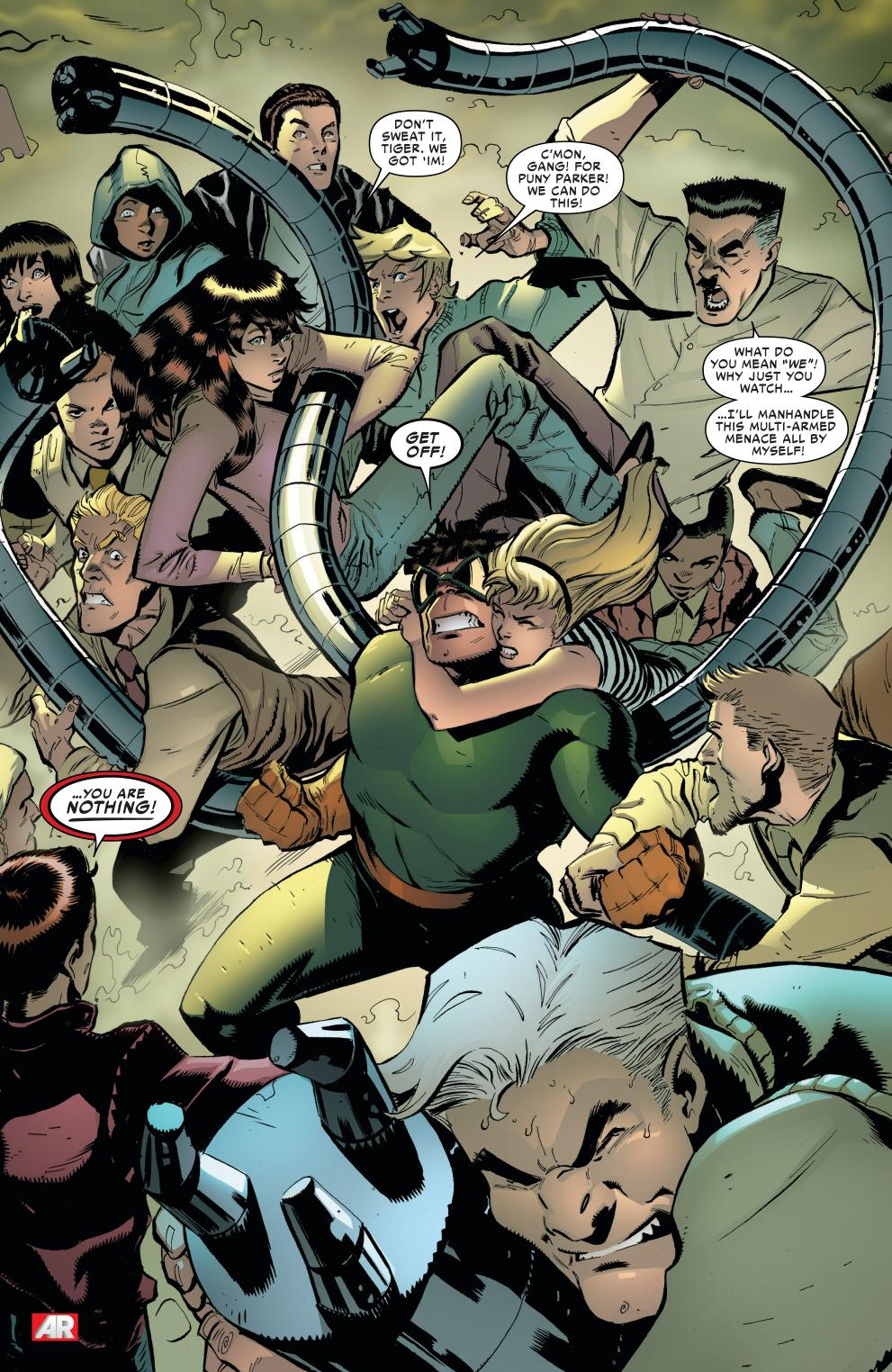 Peter Parker And Otto Octavius Mental Battle – Comicnewbies