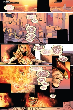 phoenix five emma frost wants to recreate the world
