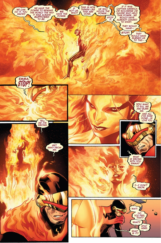 phoenix five emma frost wants to recreate the world