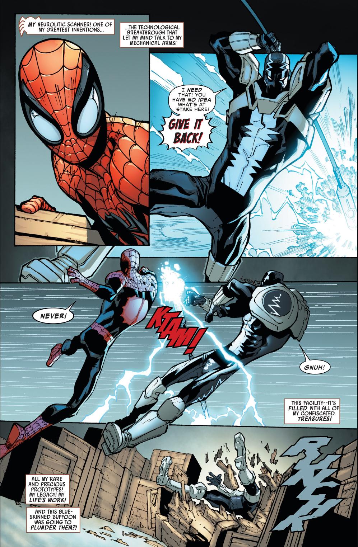 Superior Spider-Man VS Cardiac   Comicnewbies
