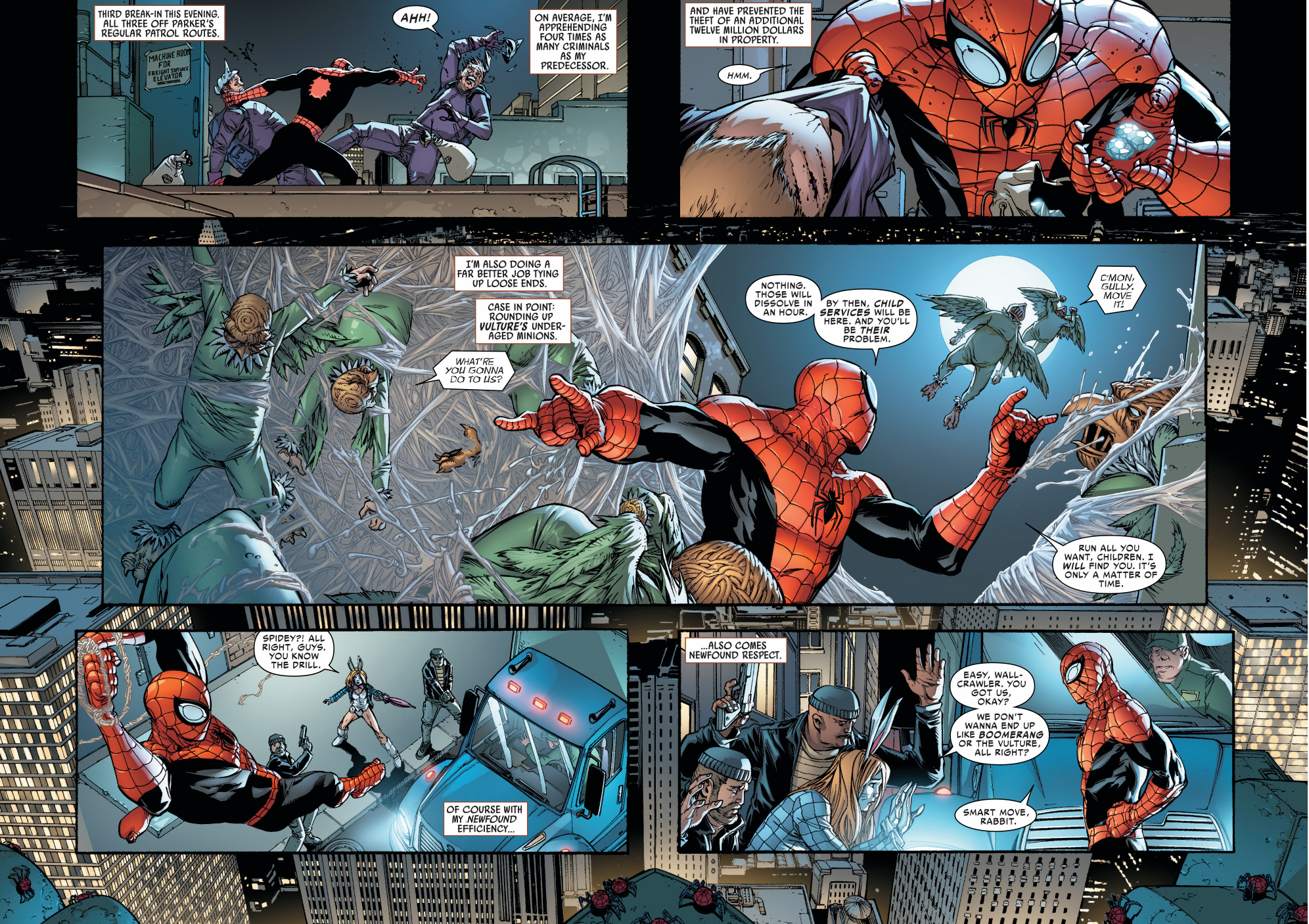 Superior Spider-Man's Crime Fighting Results   Comicnewbies