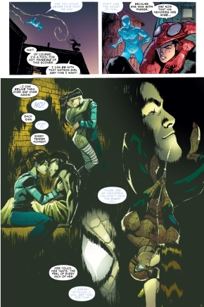 superior spider-man's memories of mary jane