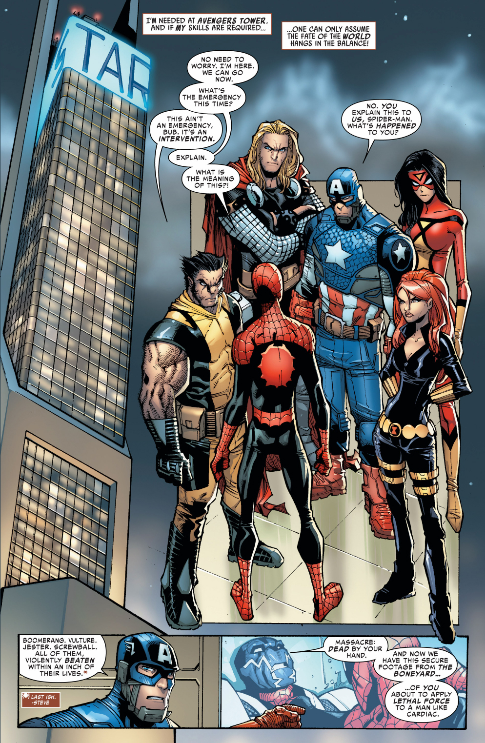 The Avengers: The Avengers Hold An Intervention For Superior Spider-Man