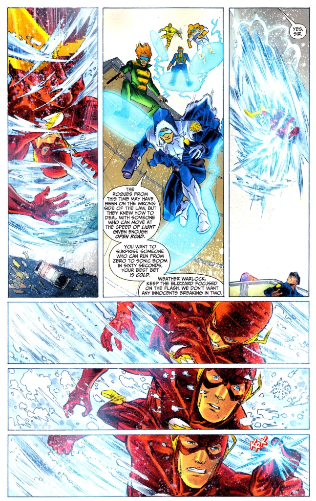 the flash vs the renegades
