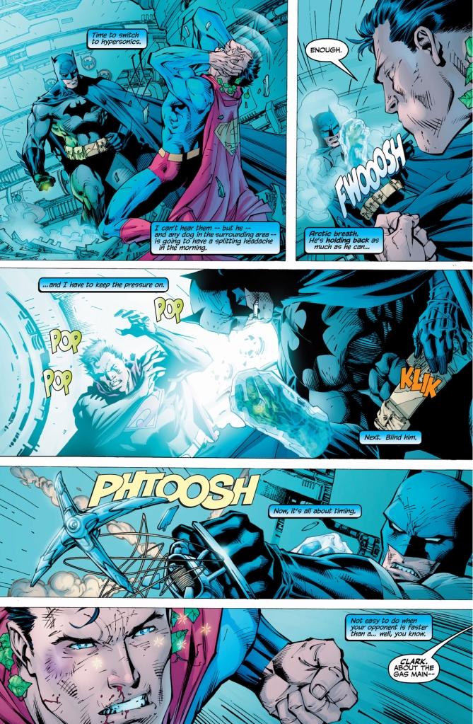 batman vs superman (hush)