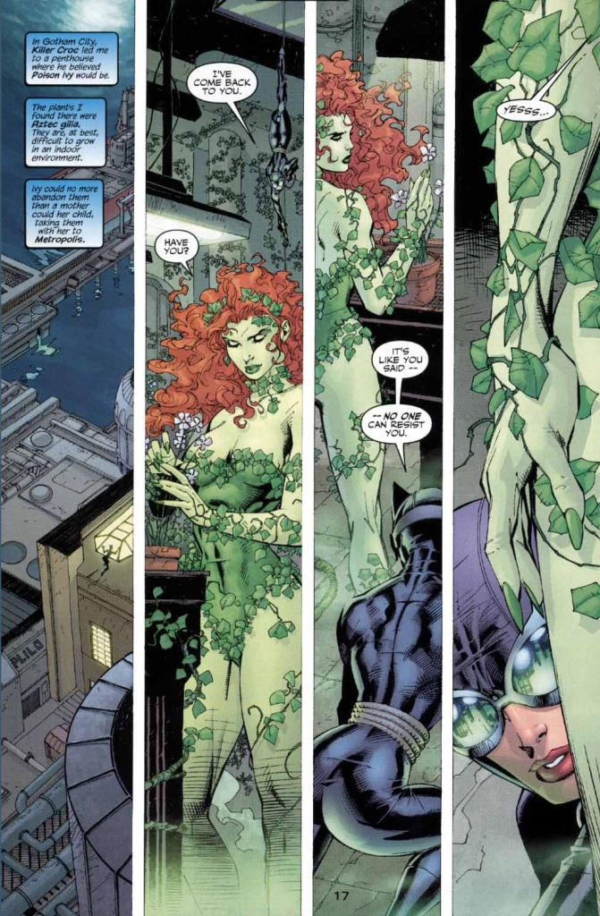 catwoman vs poison ivy