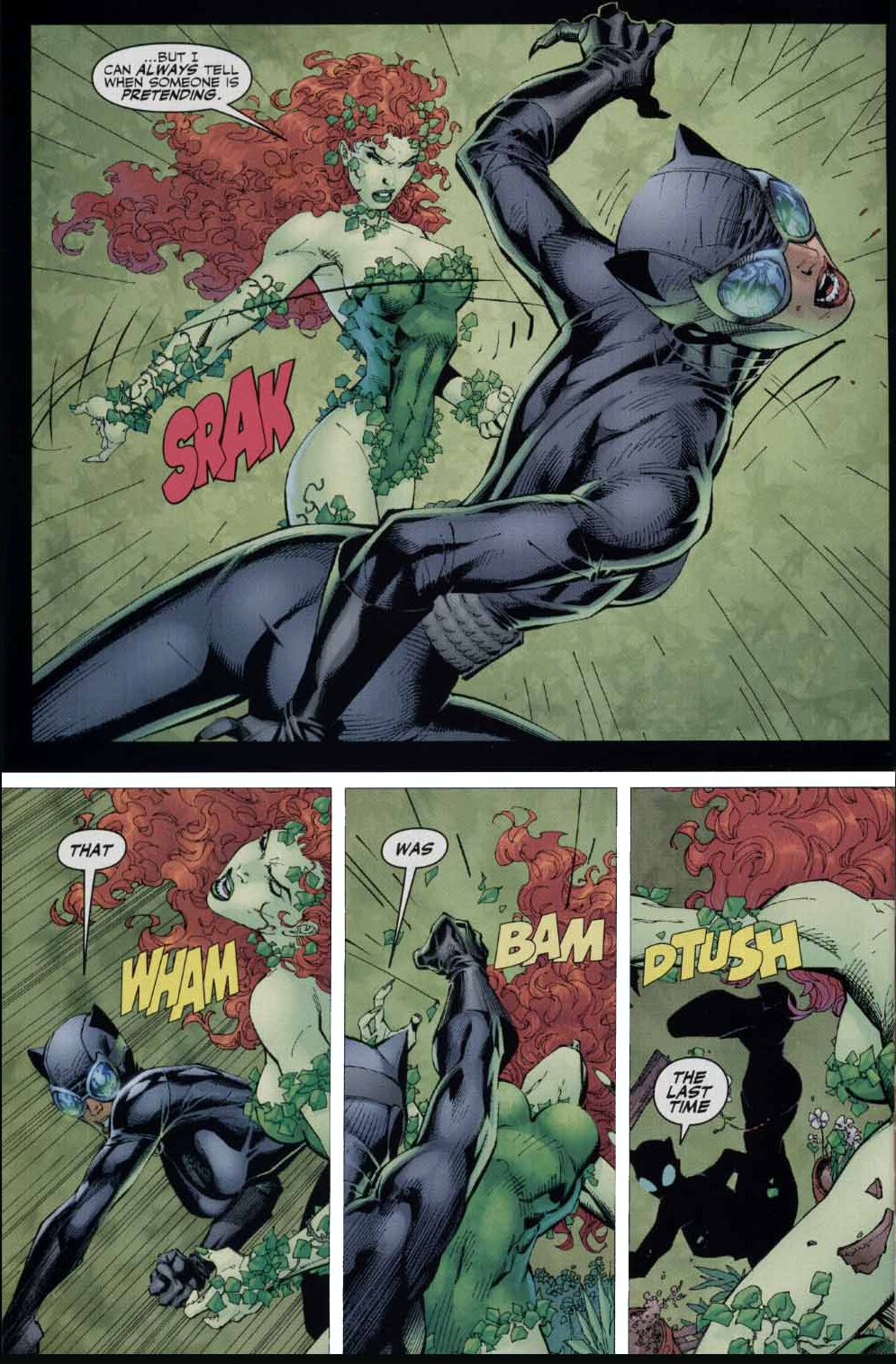 Ivy vs Catwoman Poison