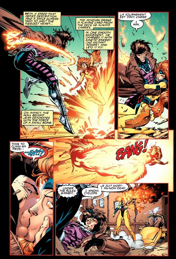 cyclops gets jealous of gambit