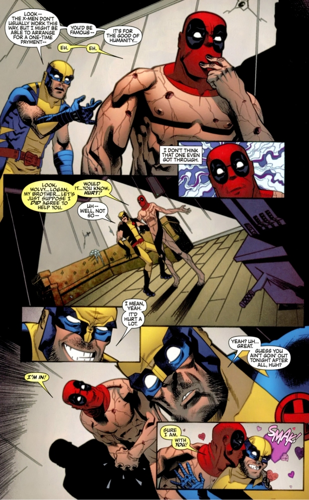 how wolverine managed to recruit deadpool