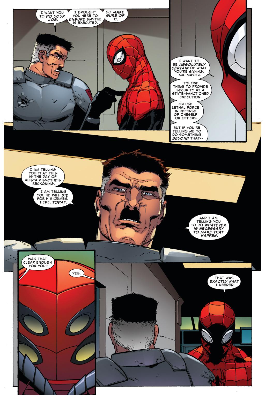 Jonah jameson quotes quotesgram - Jonah Jameson Orders Superior Spider Man To Kill