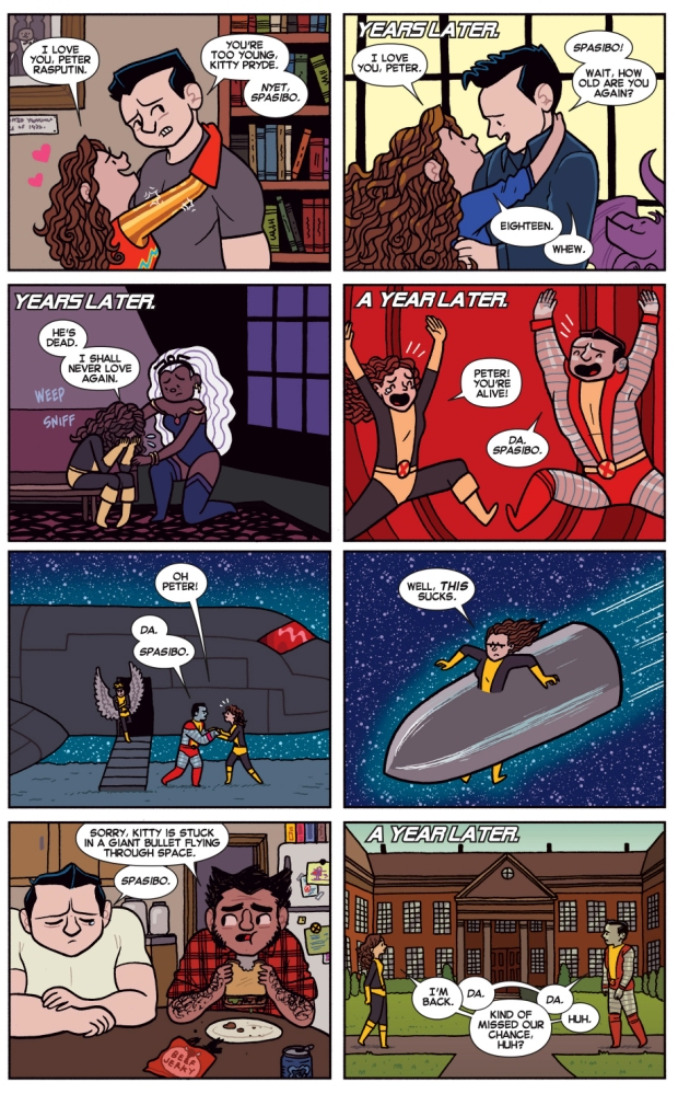 kitty pryde and colossus love story