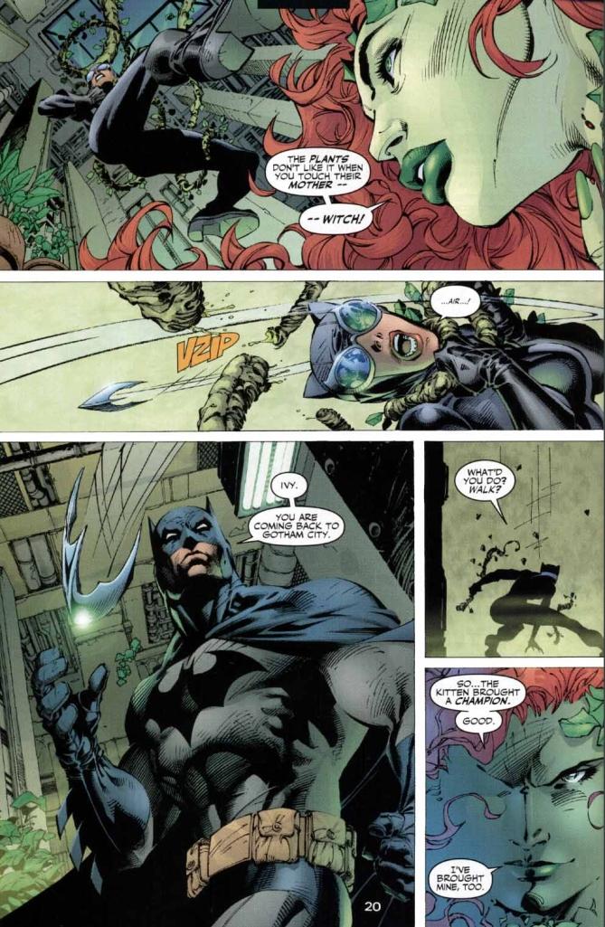 poison ivy mind controls superman