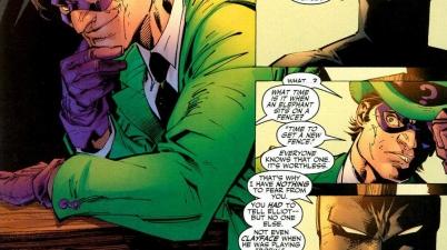 riddler figures out batman's identity