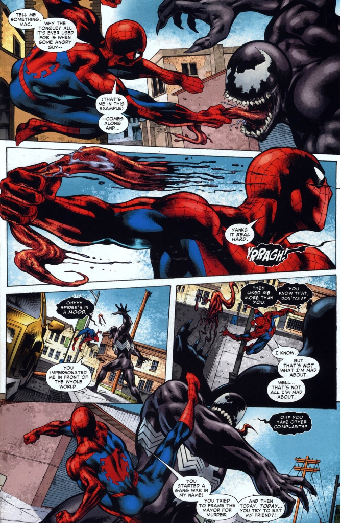 spider-man and miss marvel vs venom