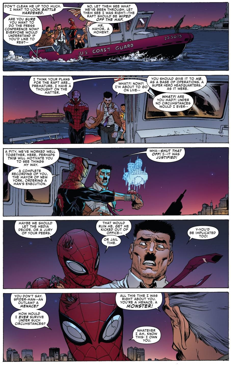 Jonah jameson quotes quotesgram - Superior Spider Man Blackmails Jonah Jameson