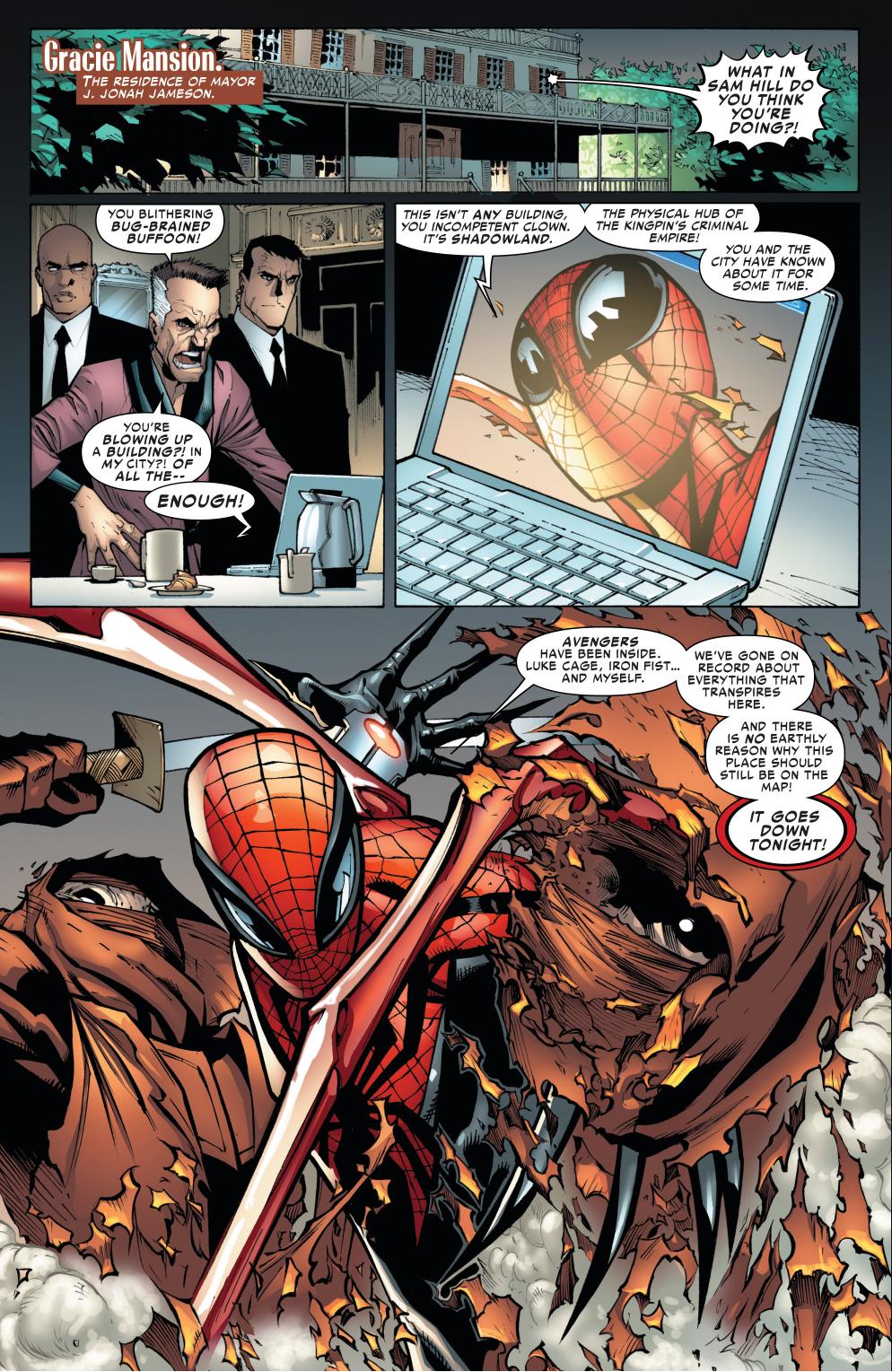 Jonah jameson quotes quotesgram - Superior Spider Man Blackmails Jonah Jameson Again