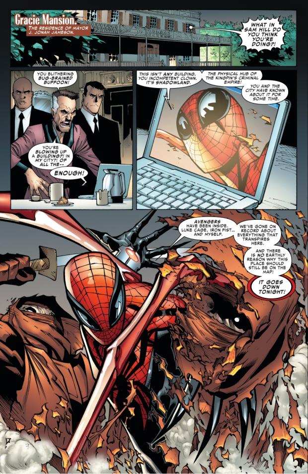 superior spider-man blackmails jonah jameson again