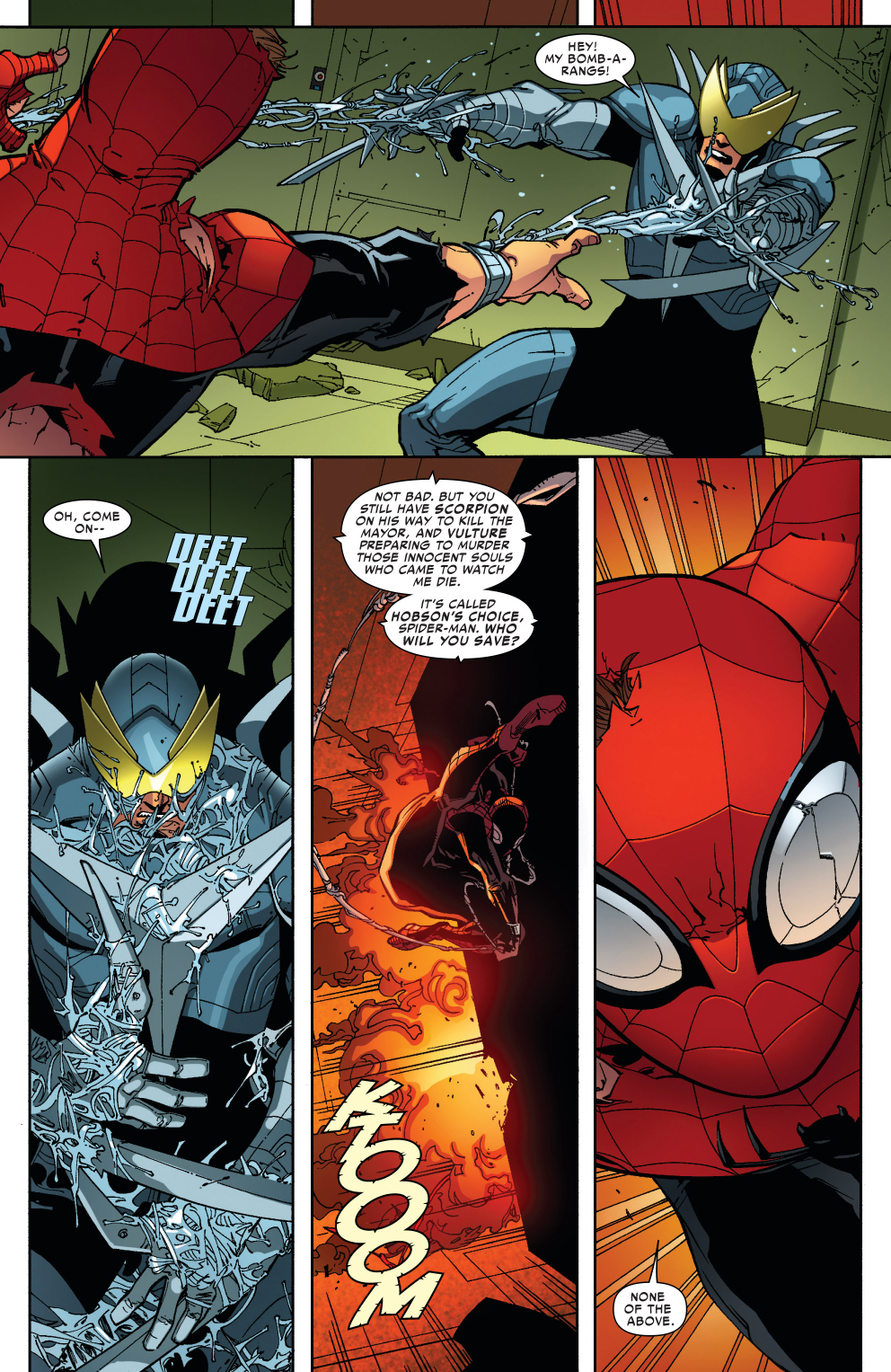 Superior Spider-Man Ignores Saving Innocents | Comicnewbies Marvel Now Psylocke