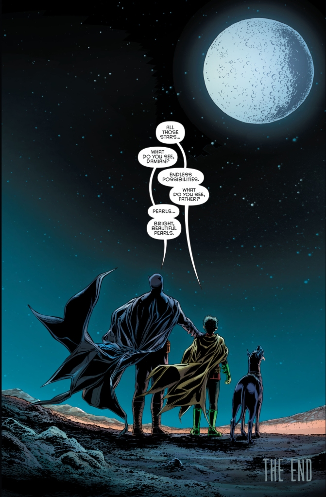 what batman sees when he looks at stars