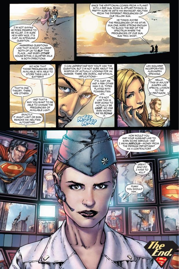 alexandra luthor's idea to stop superman (earth 1)