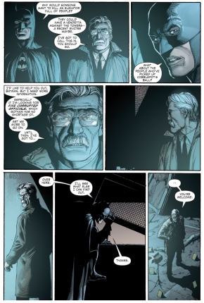 batman clues jim gordon on his disappearing act