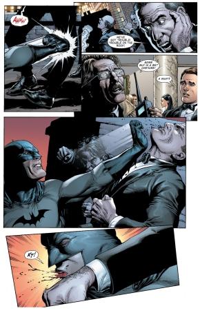 batman hits jim gordon (earth 1)