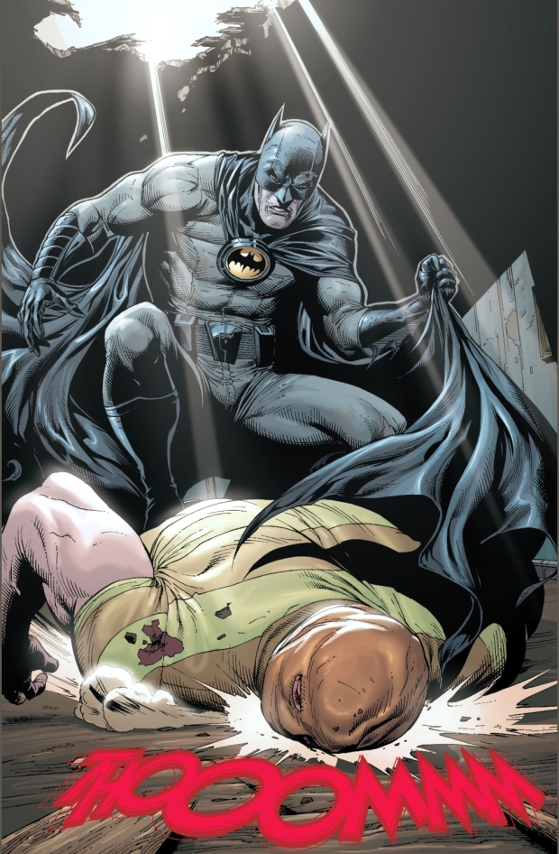 batman vs birthday boy (earth 1)