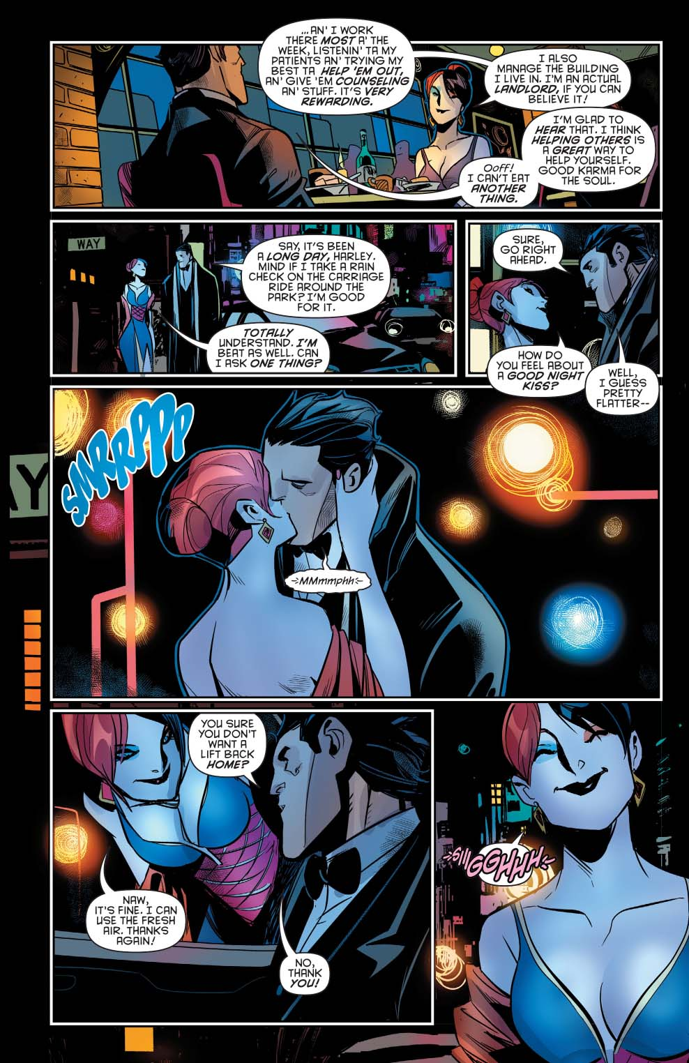 Bruce Wayne Goes On A Date With Harley Quinn  Comicnewbies-2872