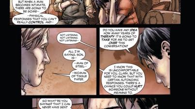 clark kent gets the sex talk (earth 1)