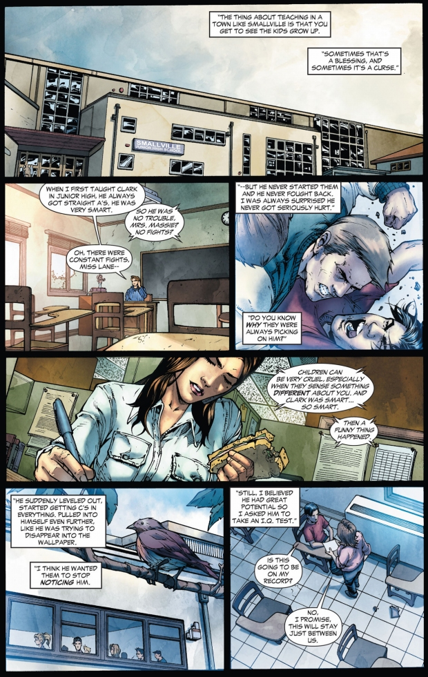 clark kent's childhood in smallville (earth 1)