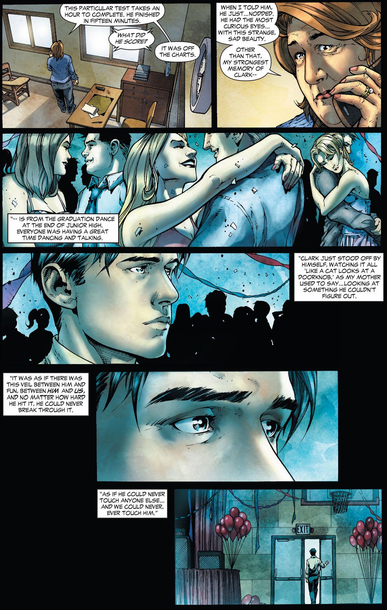 Clark Kents Childhood In Smallville Earth 1 Comicnewbies