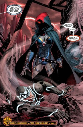 darkseid's daughter