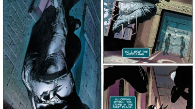 fantomex loses a bet to wolverine