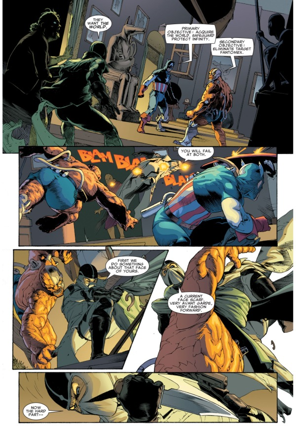 Fantomex VS The Thing Deathlok And Captain America ...