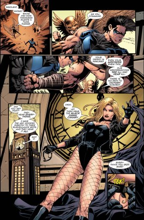 how black canary took out hawkgirl and hawkman (convergence)