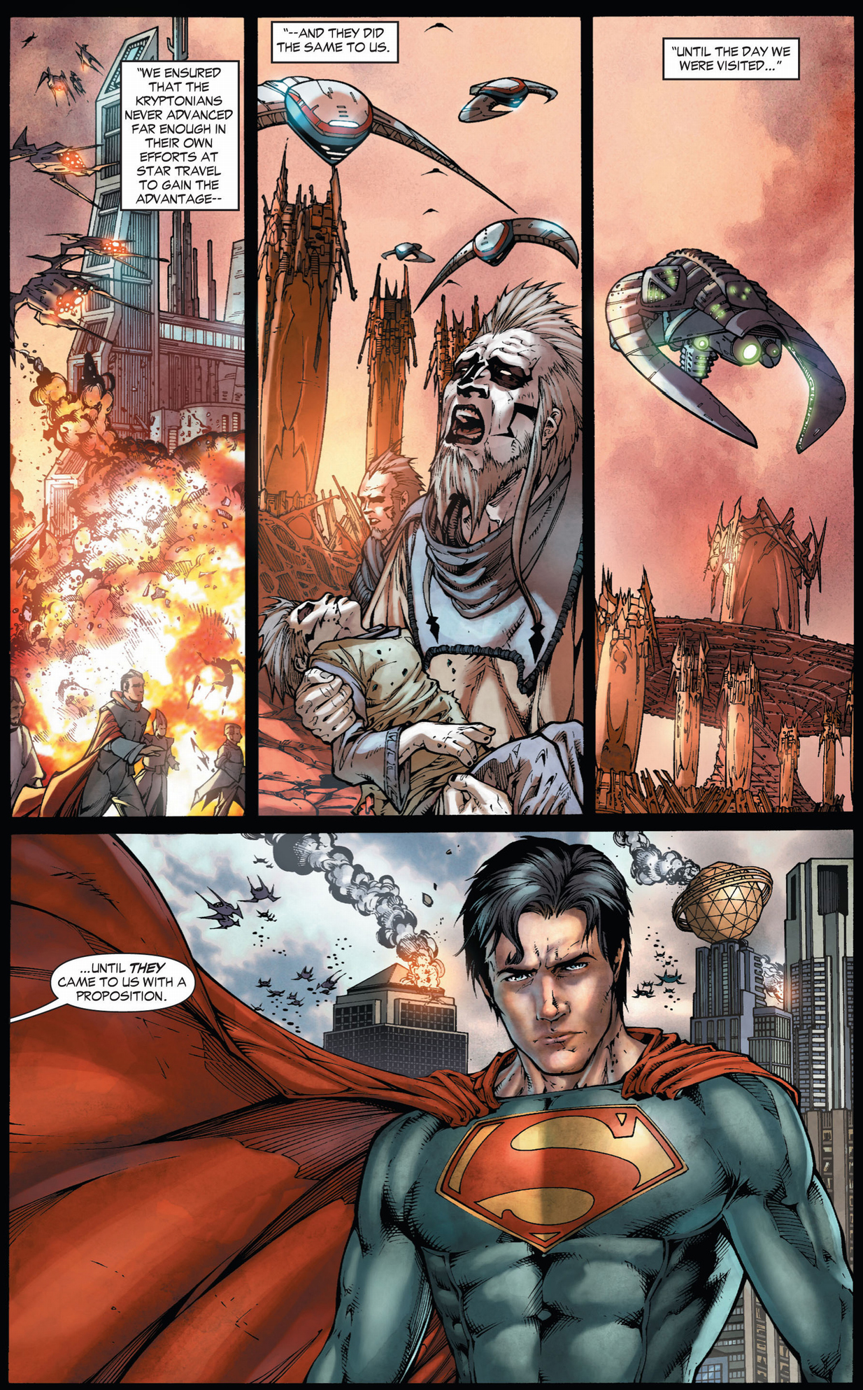 How Krypton Was Destroyed Earth 1  Comicnewbies-5013