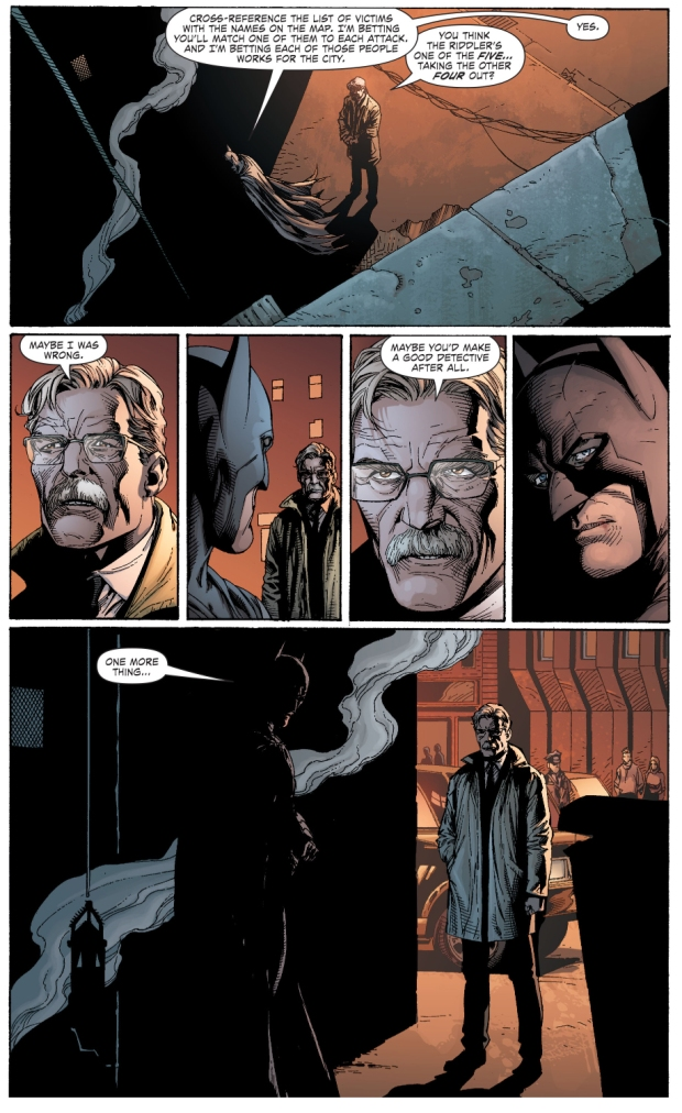 jim gordon impressed with batman's detective skills