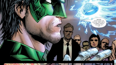 kyle rayner is chosen by all 7 rings
