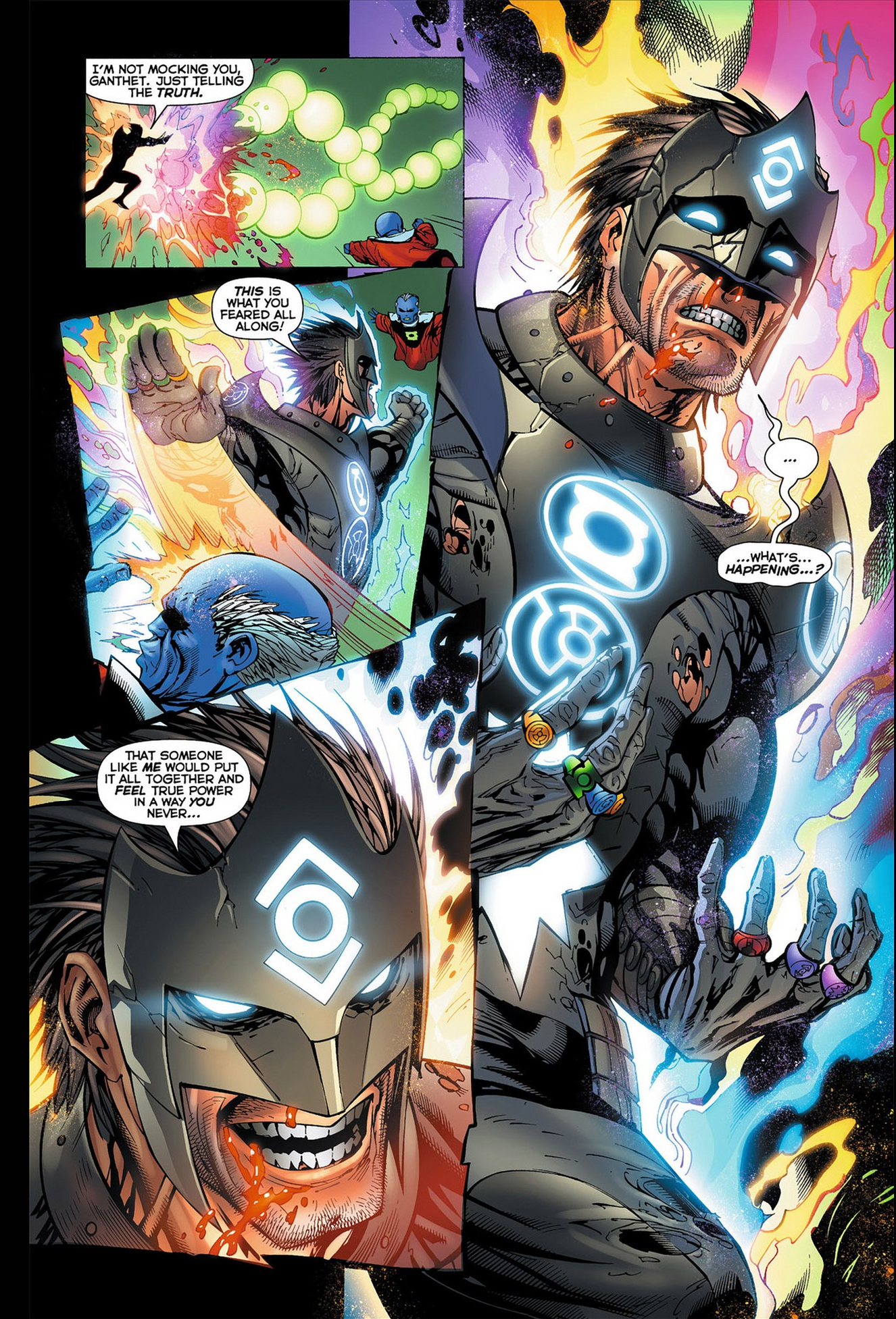 Kyle Rayner VS The Guardians Of The Universe