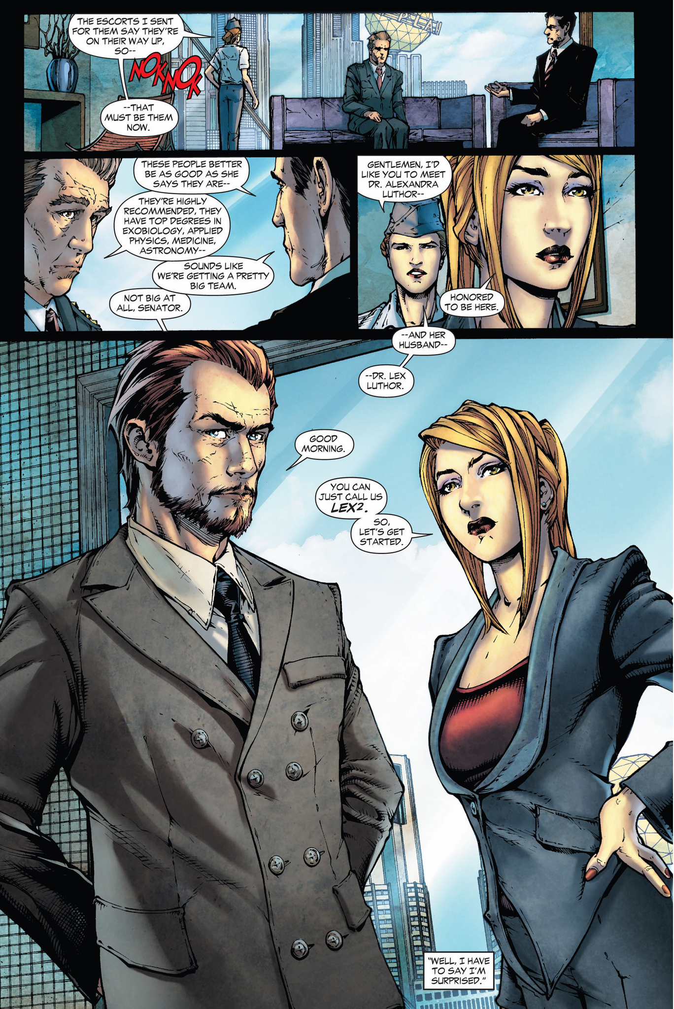Lex And Alexandra Luthor (Earth 1) | Comicnewbies