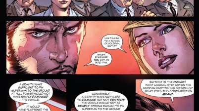 lex luthor explains his plan to stop superman (earth 1)