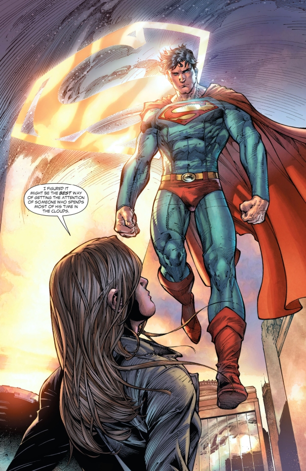lois lane installs a superman signal