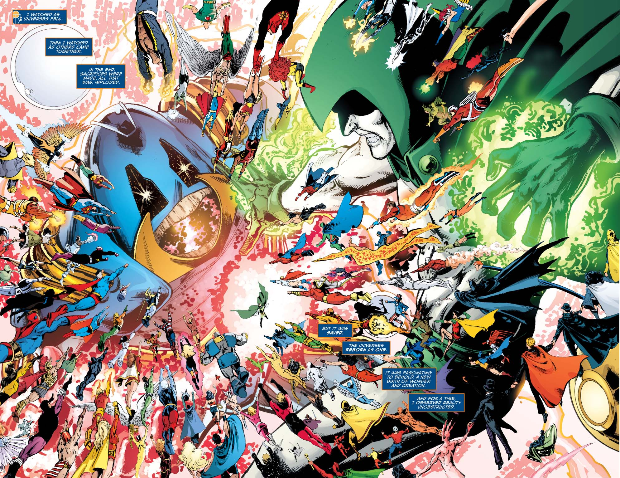 Metron Describes The DC Crises – Comicnewbies