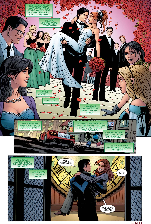 Nightwing Marries Oracle | Comicnewbies